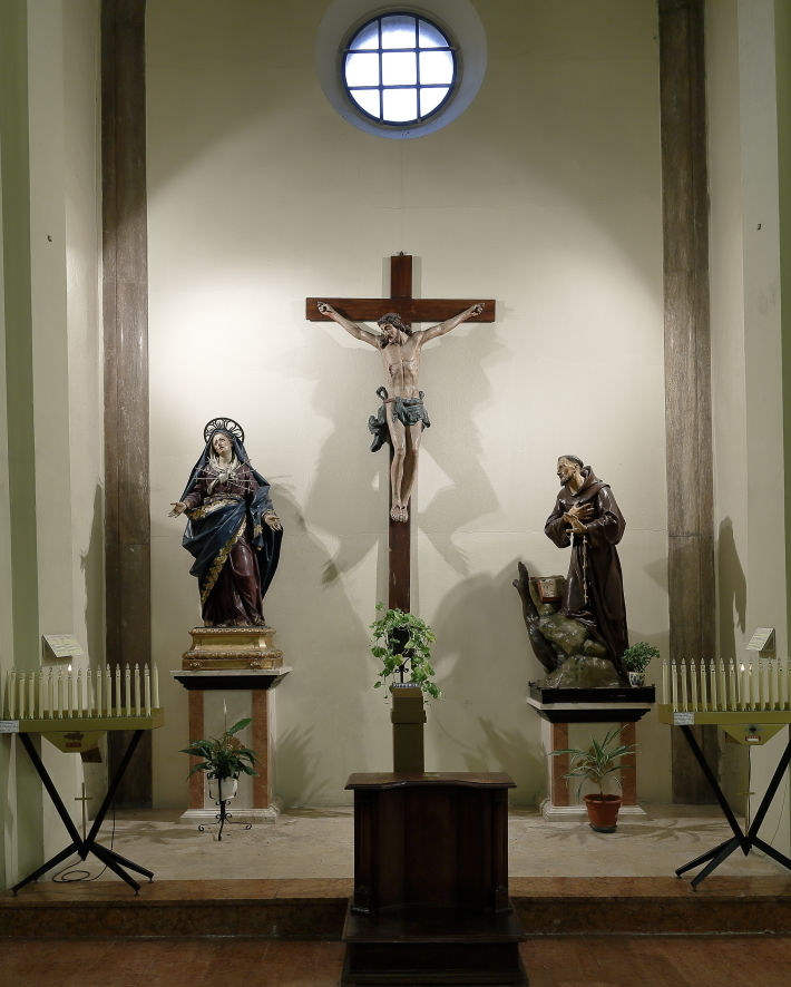 Quarta cappella navata di sinistra
