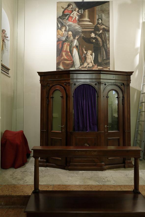 Prima cappella navata di sinistra