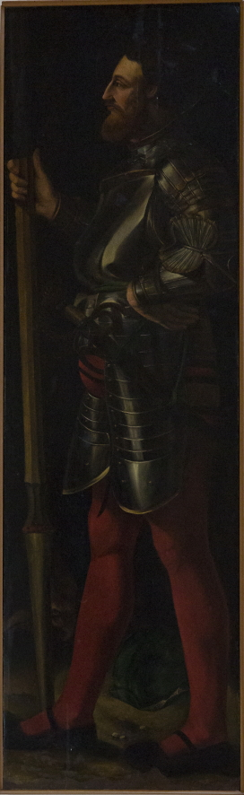Francesco D'Este raffigurato come San Giorgio