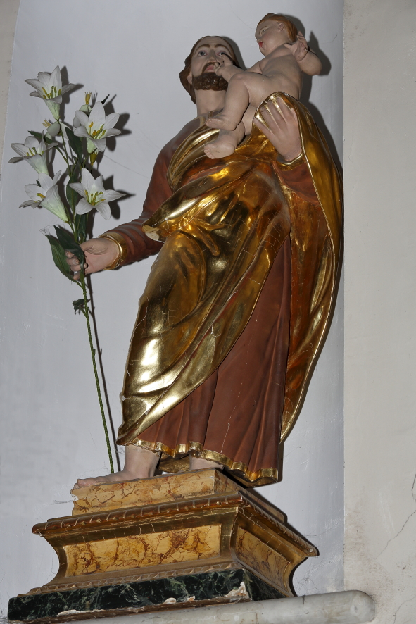 Statua lignea di San Giuseppe