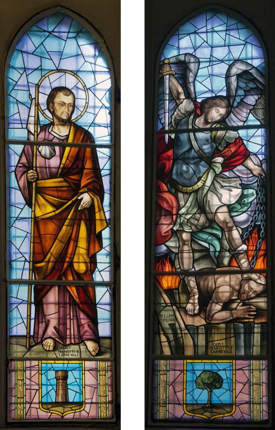 San Giacomo e San Michele, patroni dei quartieri Bolognano e Meletolo