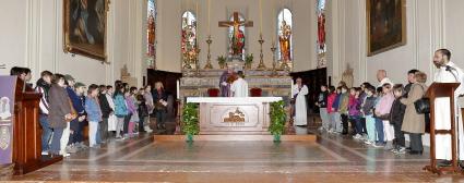La lettura dei nomi dei comunicandi all'Assemblea domenicale
