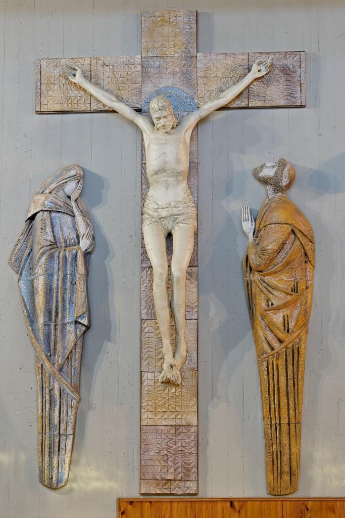 Il Crocifisso nella sua attuale dislocazione