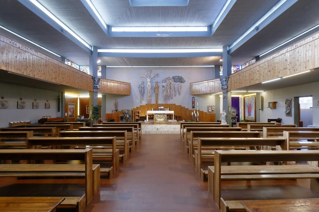 Interno della Chiesa di Fruges