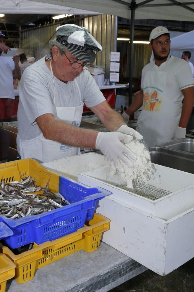 La preparazione della frittura