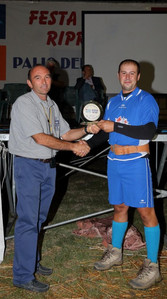 """Il trofeo """"Memorial Oriano Capirossi"""" vinto dal Quartiere San Giovanni"""