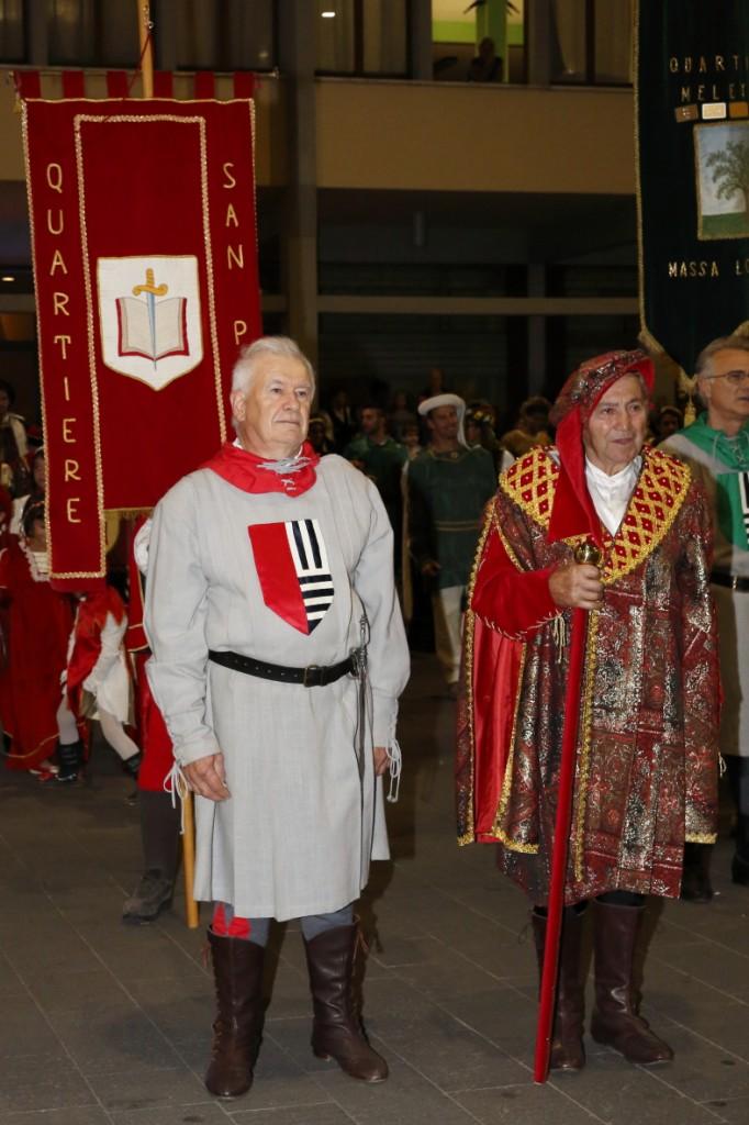 Promessa del Saltaro del San Paolo accompagnato dal Priore