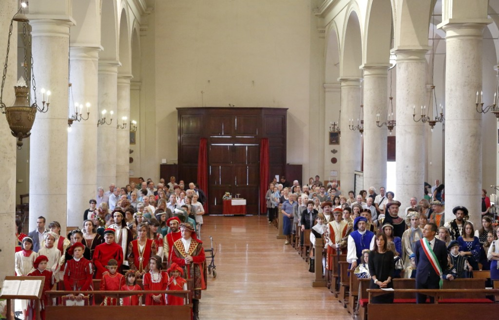 Una veduta della chiesa