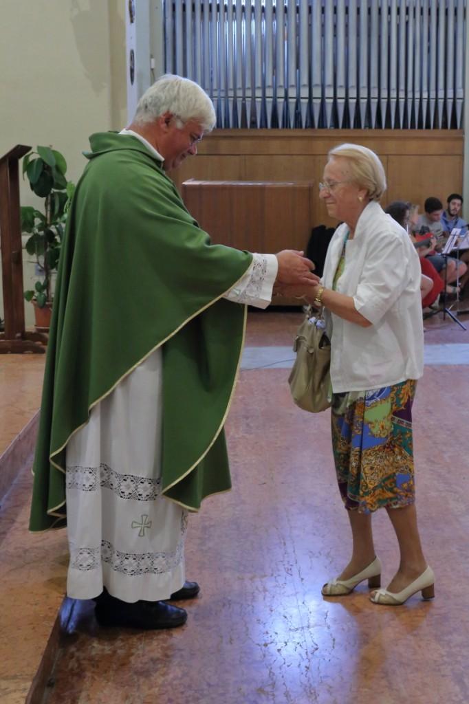 L'offertorio della Santa Messa