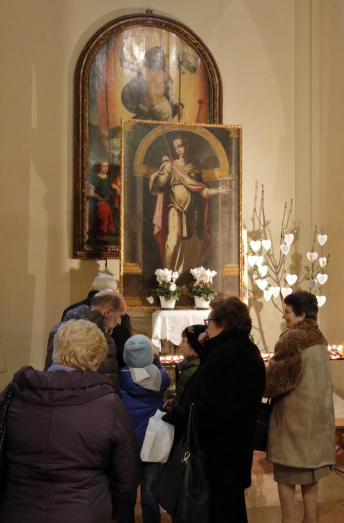 La venerazione a Santa Lucia