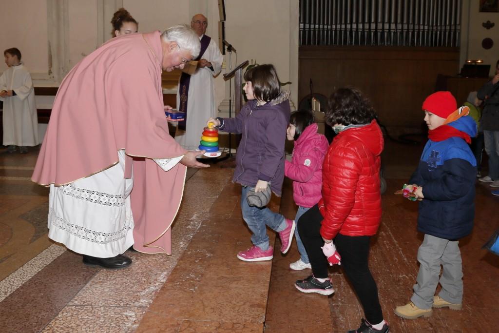 I doni dei bambini per la Caritas