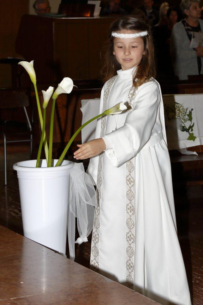 L'omaggio alla Madonna della calla