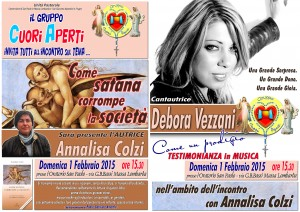 Domenica 1 Febbraio ore 15.30 - Oratorio San Paolo Massa Lombarda