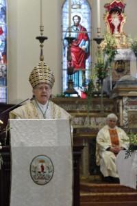Omelia di S.E. Mons. Tommaso Ghirelli nella celebrazione del 25 gennaio 2014