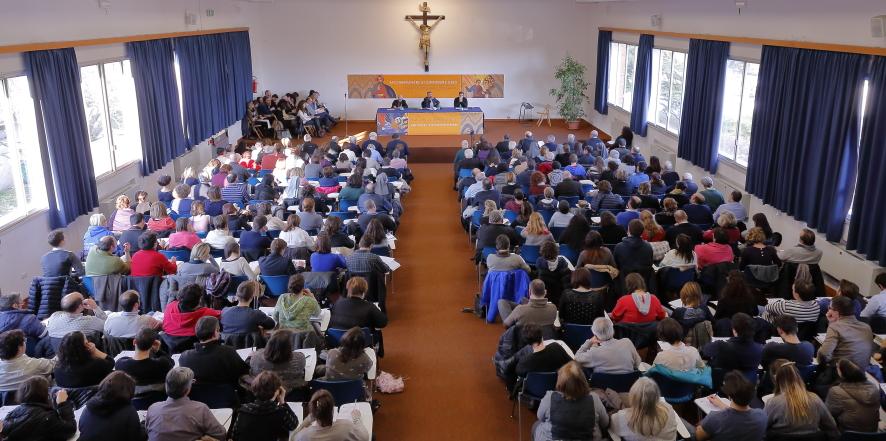 I delegati presenti dalle varie parrocchie della Diocesi