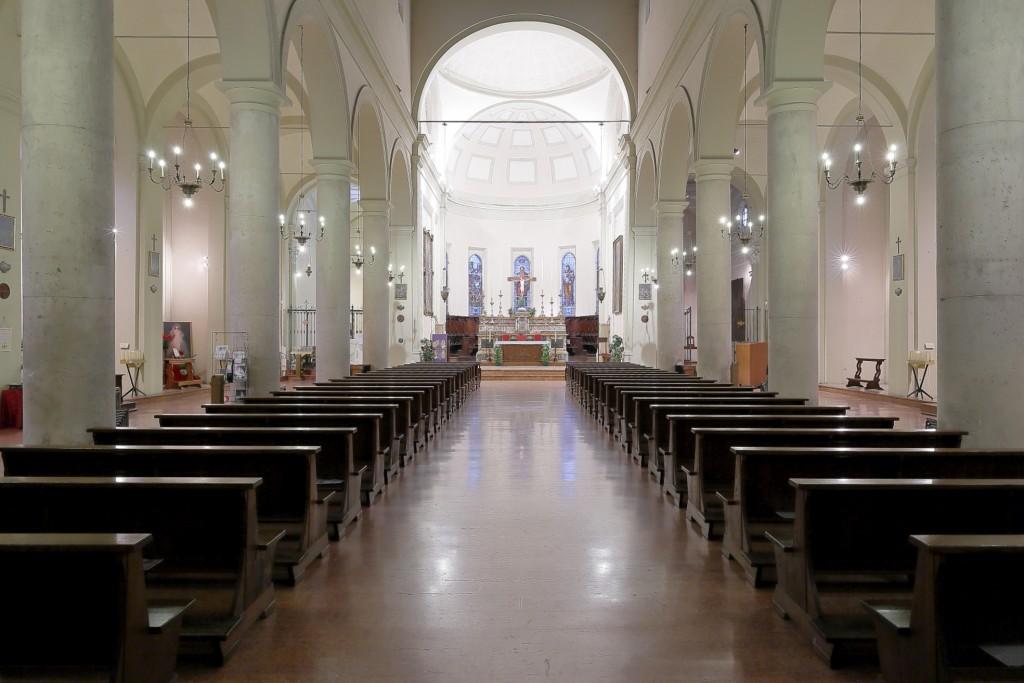 Interno della chiesa di San Paolo