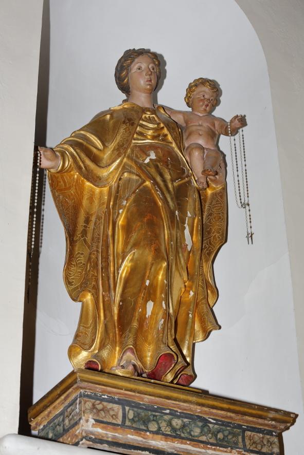 Statua lignea della Madonna della Cintura
