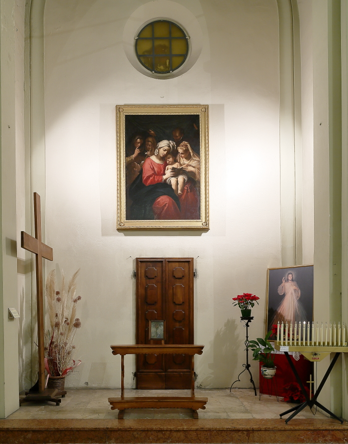 Quinta cappella navata di sinistra