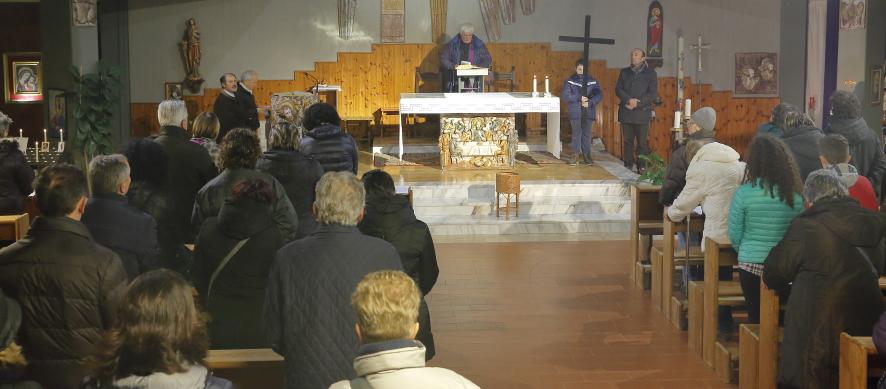 La conclusione nella chiesa di San Giacomo