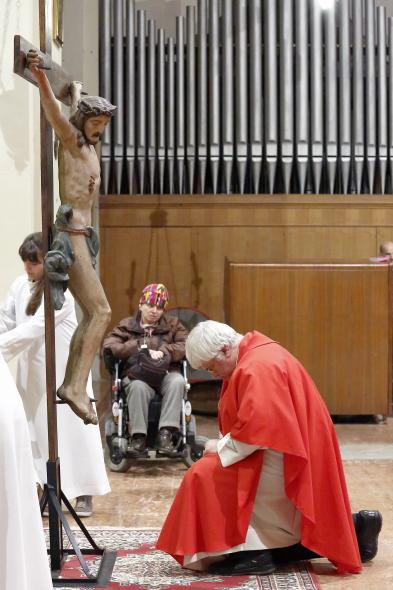 L'adorazione del Parroco