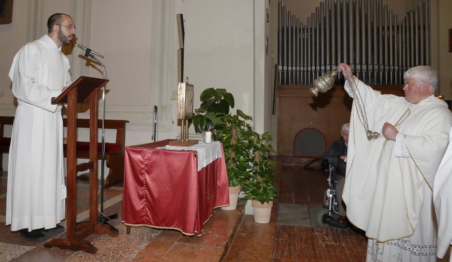 La Benedizione dell'immagine della Madonna della Consolazione