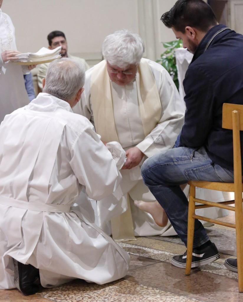 La lavanda dei piedi