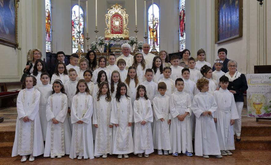 Il gruppo dei Comunicati con i catechisti