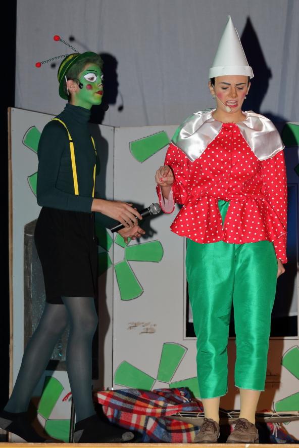 Pinocchio e il grillo parlante