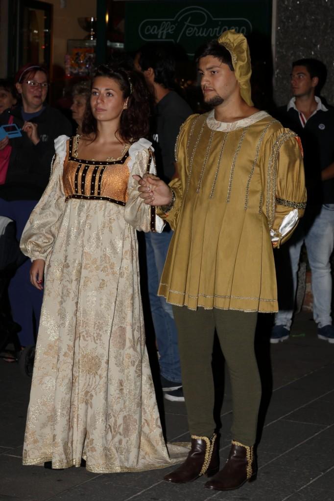 Forleano Zaneboni e madama Ismeralda dal Bolognano