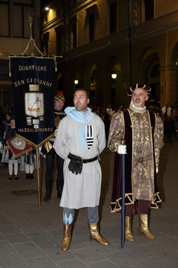 Promessa del Saltaro del San Giovanni accompagnato dal Priore