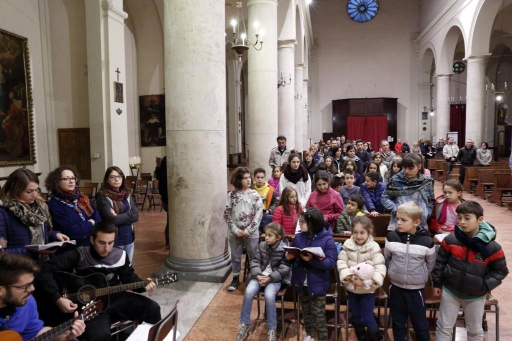 L'animazione della Santa Messa in Parrocchia