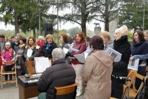 Il Coro San Paolo che ha animato i canti liturgici