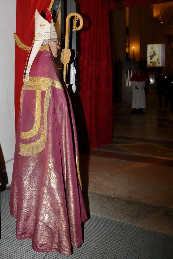 La Porta Santa nella Cattedrale di San Cassiano
