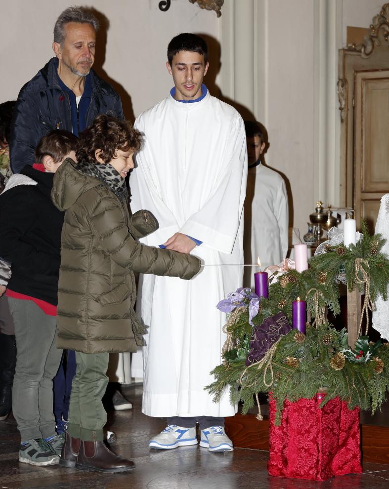 L'accensione della seconda candela