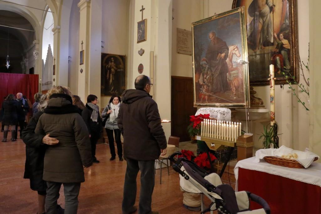 Il quadro di Sant'Antonio ed il pane benedetto