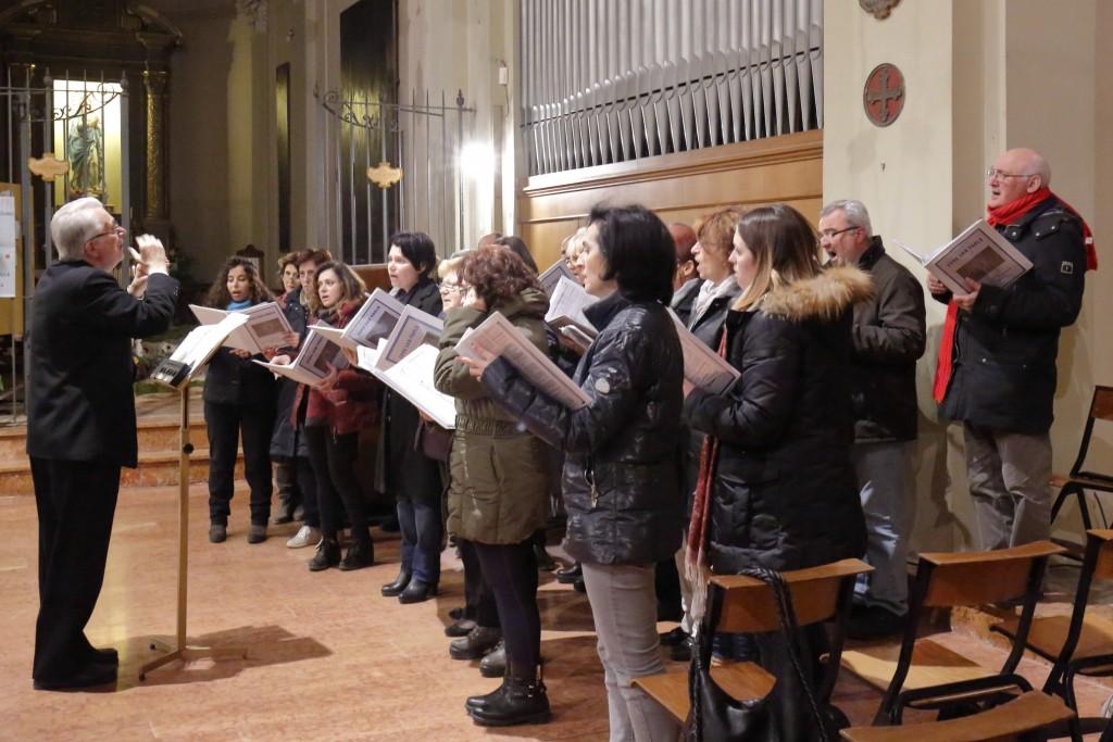 Il coro San Paolo che ha accompagnato tutta la celebrazione