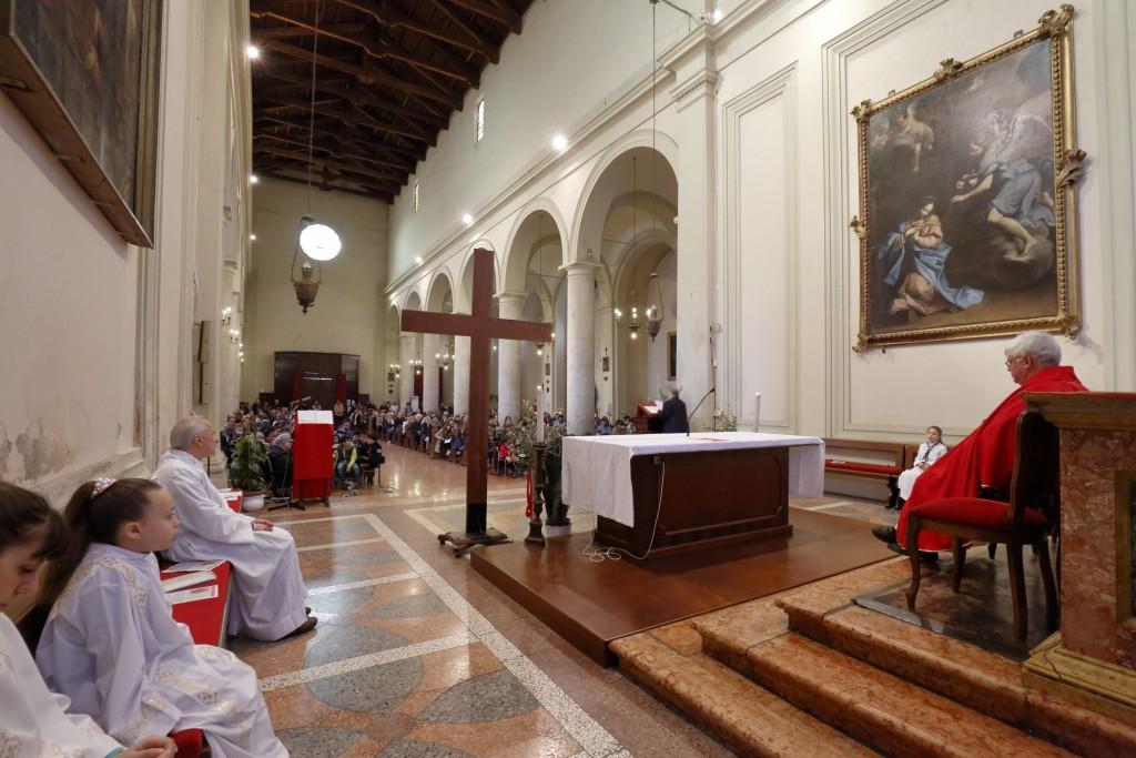 L'omelia della consacrata dell'ospizio Santa Teresa di Ravenna