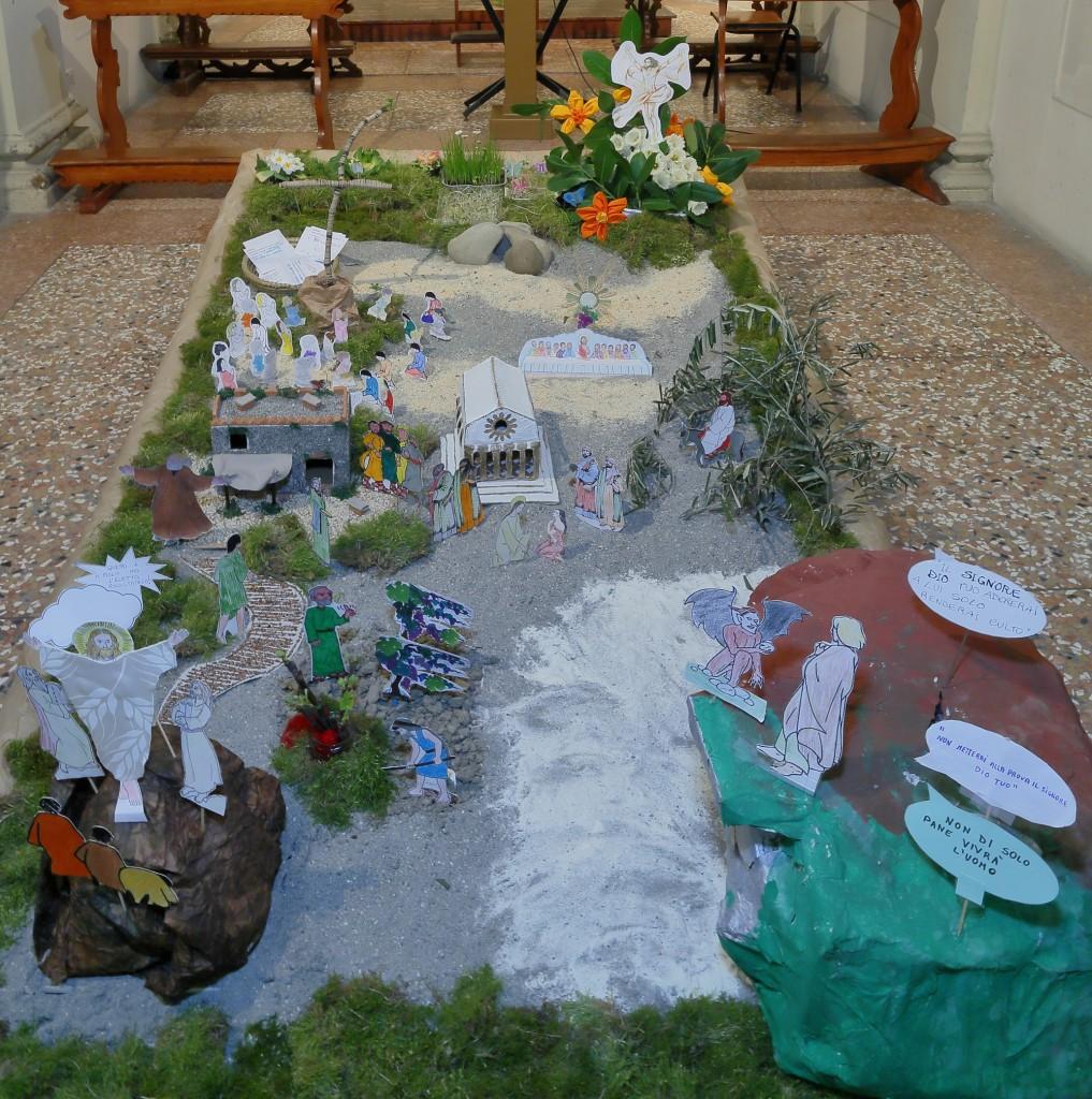 Il Giardino di Pasqua nella sua interezza