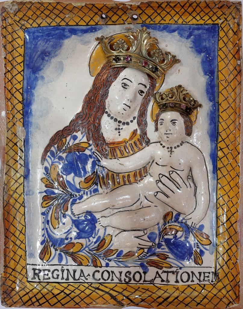 L'immagine della Madonna della Consolazione