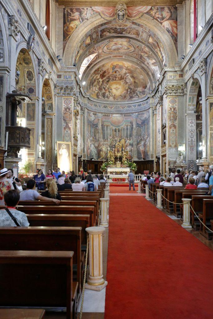 Una breve visita nella chiesa di Santo Spirito in Sassia