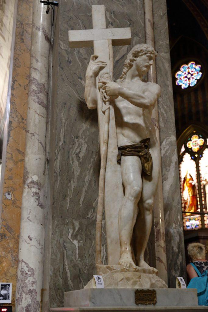 Il risorto di Michelangelo in S. Maria sopra Minerva