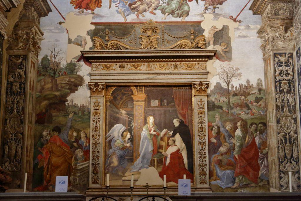 un affresco di Filippino Lippi
