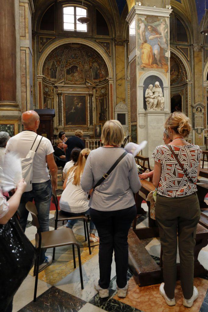 Il profeta Isaia di Raffaello e Sant'Anna con la Madonna del Sansovino