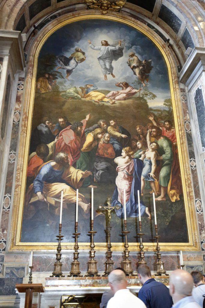 Copia della Trasfigurazione di Raffaello