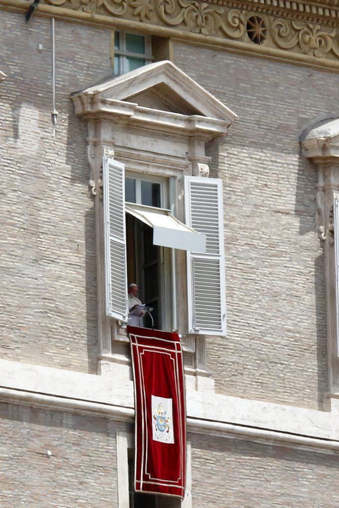 Il Papa recita l'Angelus