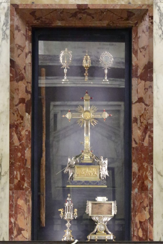 Le reliquie della Santa Croce
