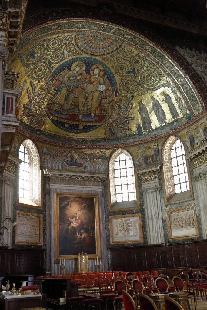 L'abside della basilica di Santa Maria Maggiore