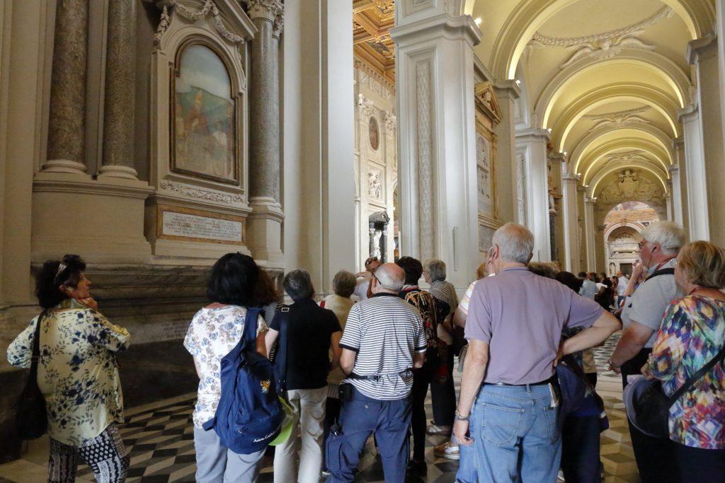 Frammento di affresco di Giotto