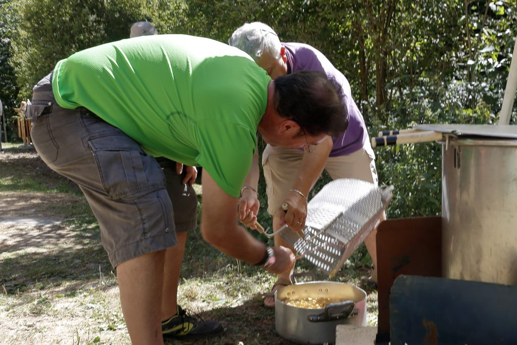 La cottura dei maccheroni