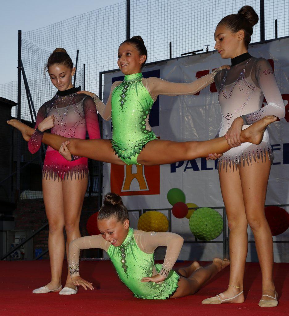 Le ragazze della ginnastica